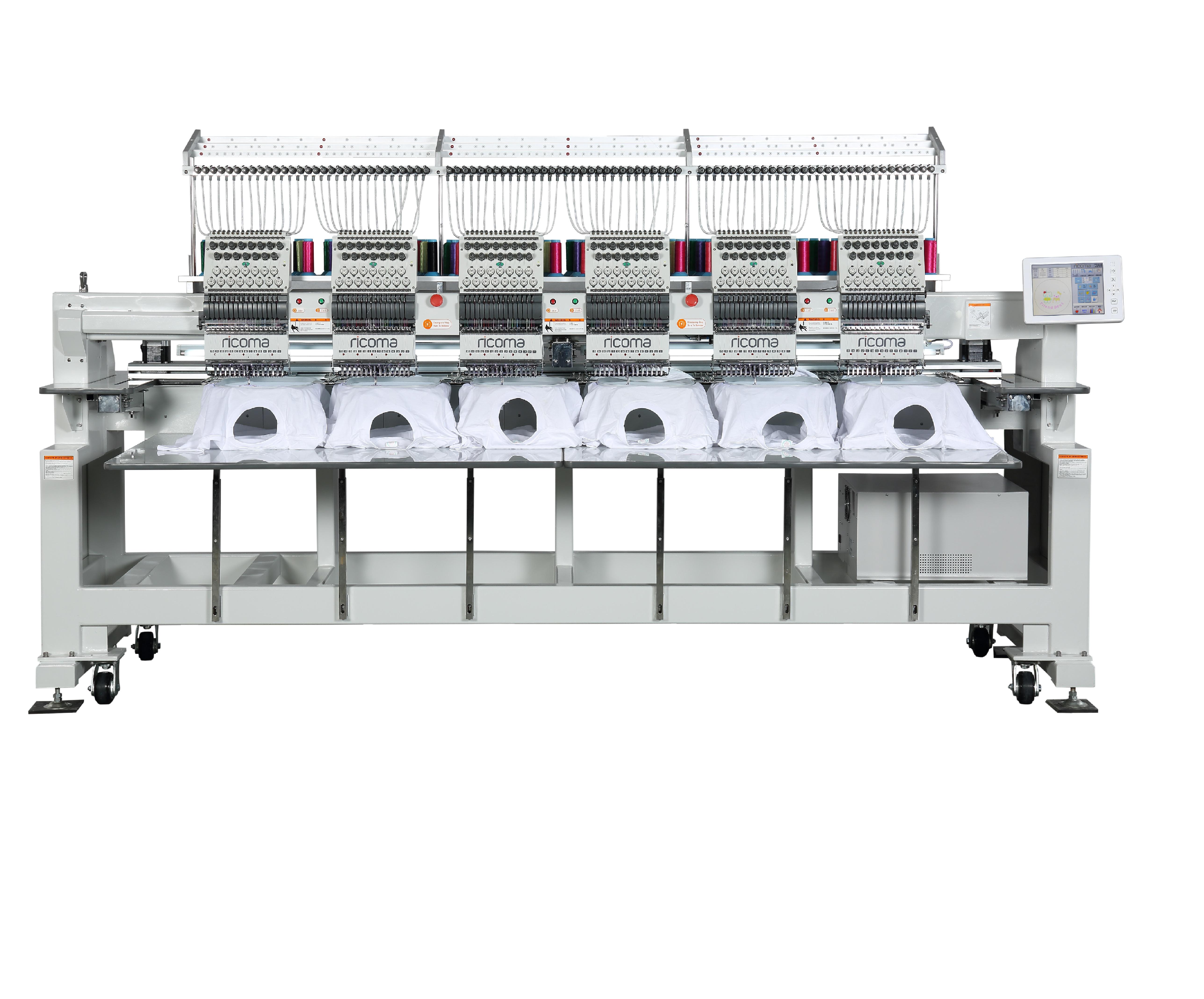 Hímzőgép RICOMA CHT-1206/CHT-1506