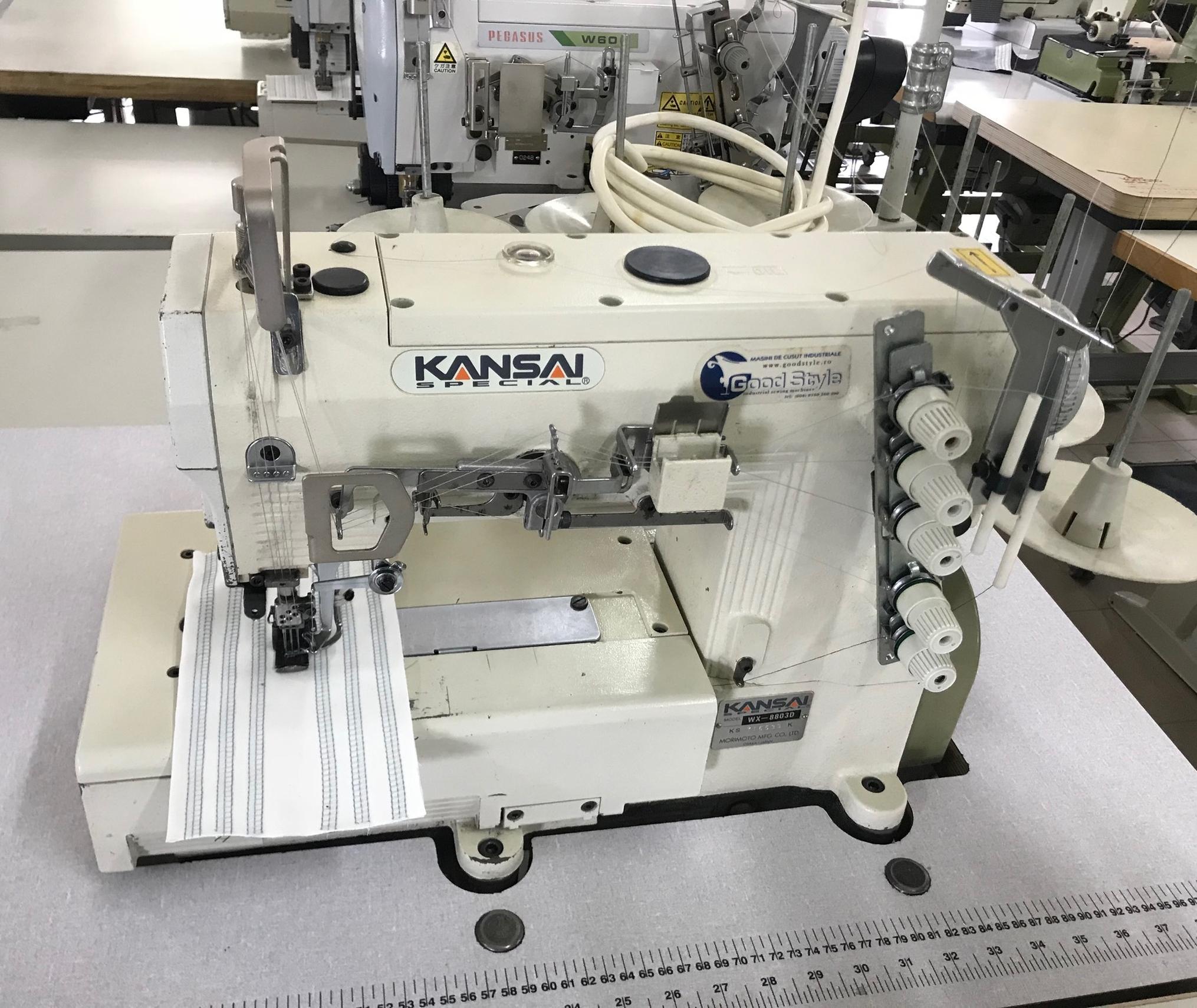 Masina pentru cusatura de acoperire KANSAI WX-8803D