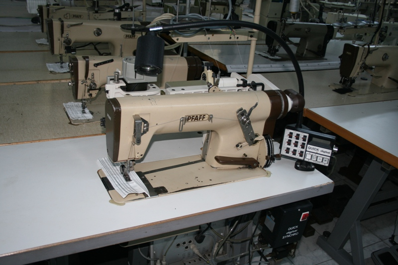 Masina de cusut lantisor marca Pfaff
