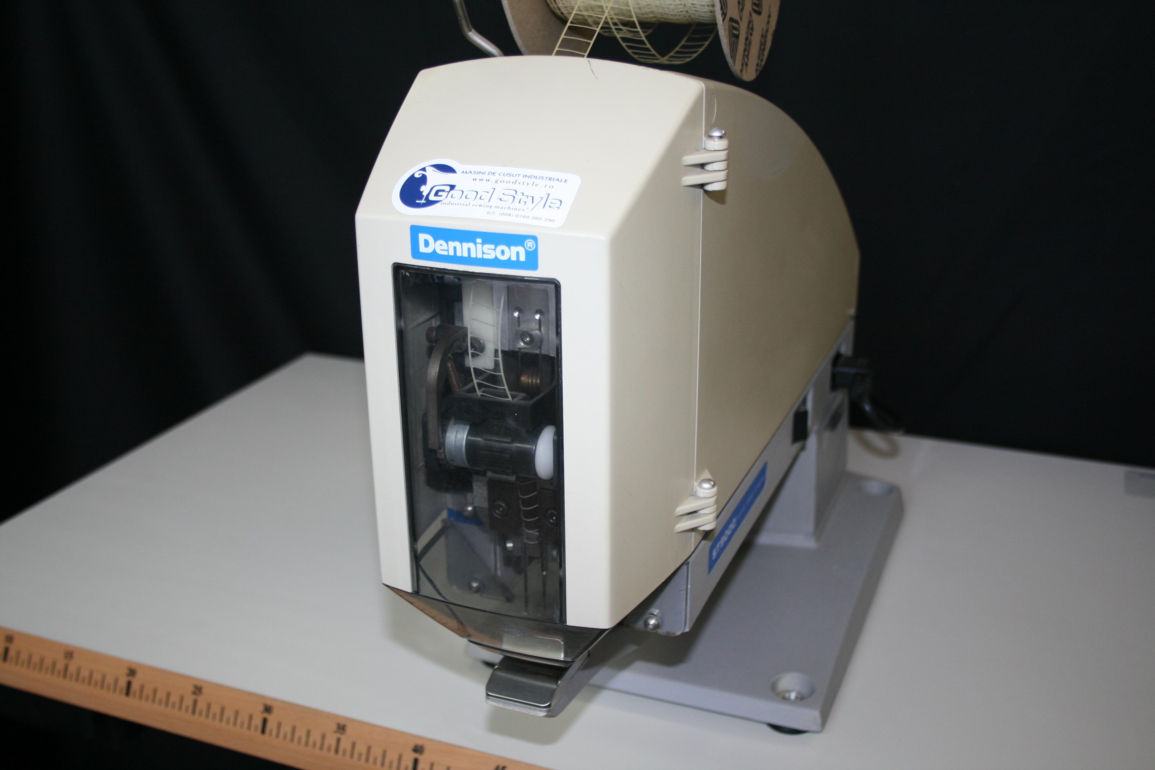 Masina de aplicat etichete marca Dennison ST9000