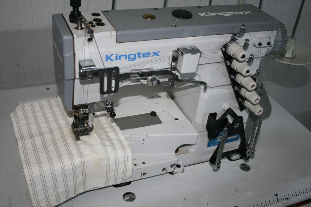 Masina de aplicat bentita (collaretto) marca Kingtex FTG6503-0-56M