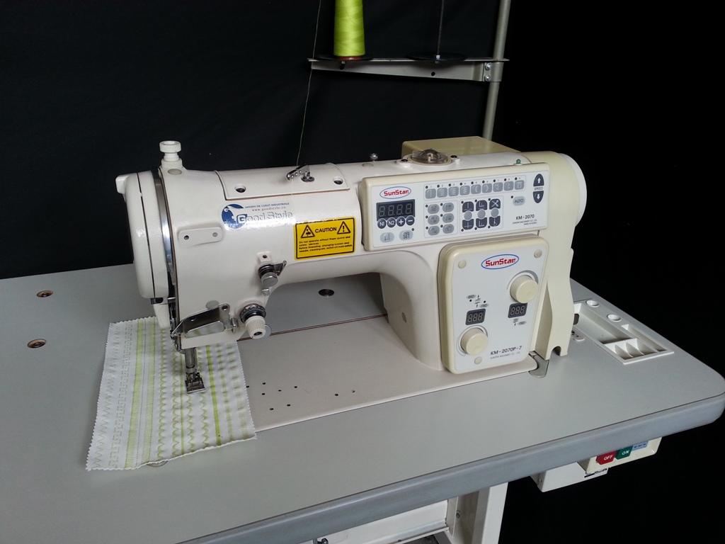 Masina electronica de cusut zig-zag Sunstar KM-2070P-7