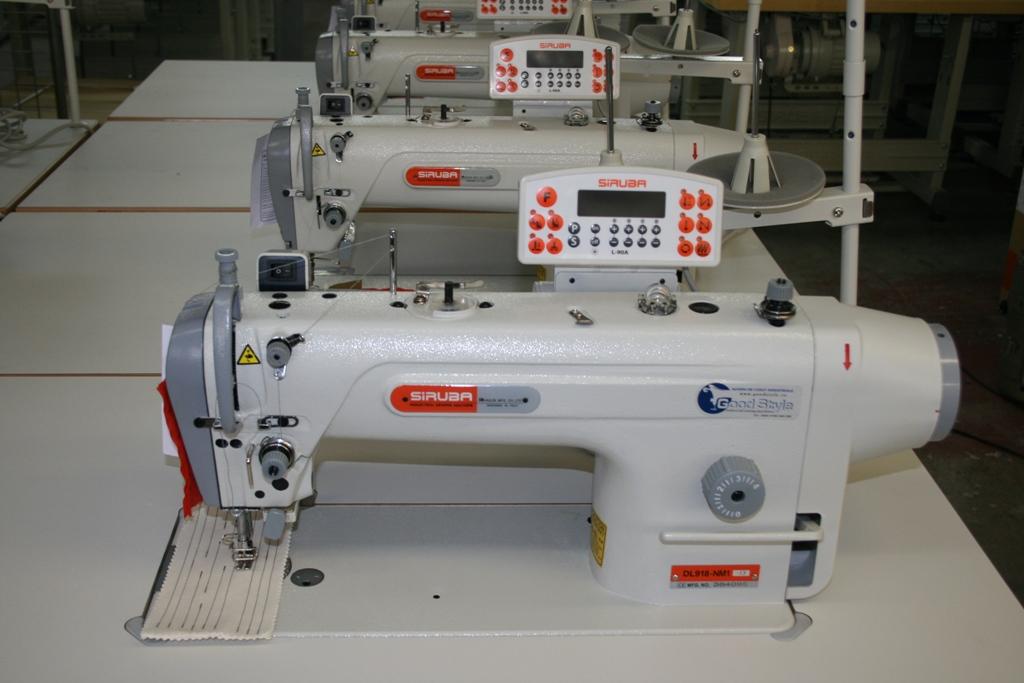 Tű takarmány steppelés gép Siruba DL918-NM1-13