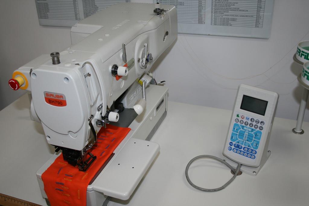 Egyszerű gomblyuk varrógép Siruba BH-790-A